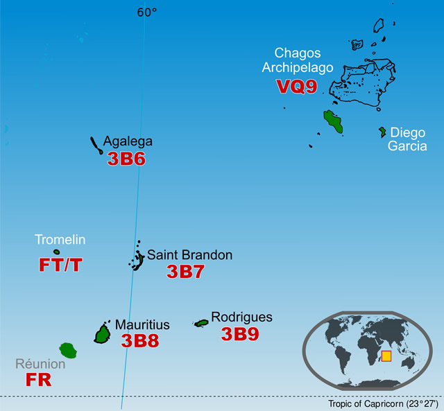3B7A DXpedition Saint Brandon Archipelago